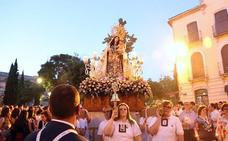 Procesión de la Virgen del Carmen por el casco histórico de Úbeda en el día de su festividad