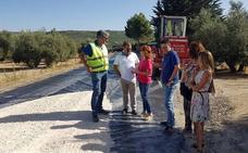 420.000 euros para la adecuación y ensanche de la carretera entre Úbeda y Santa Eulalia