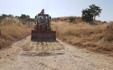 Agricultura prosigue con el mantenimiento en caminos