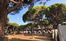 Finalizaron los tradicionales campamentos en la playa gaditana de La Barrosa
