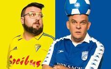 El hilarante 'derby' de Toni Rodríguez y el Comandante Lara pasará por el Ideal Cinema