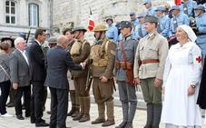 El Grupo de Recreación Histórica de Úbeda participó en la conmemoración del fin de la Primera Guerra Mundial