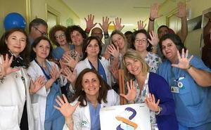 El hospital de Úbeda fomenta la higiene de manos con actividades formativas y divulgativas