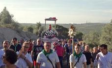 Amplia participación en el traslado de la Virgen de Guadalupe hasta su santuario del Gavellar