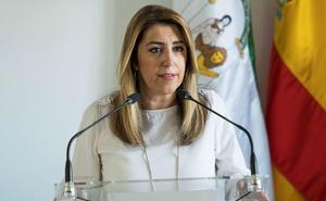 Susana Díaz, «horrorizada por el crimen machista» de Úbeda, pide «apoyar a las víctimas de esta lacra»