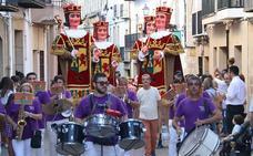 Multitudes para recibir la Feria de San Miguel