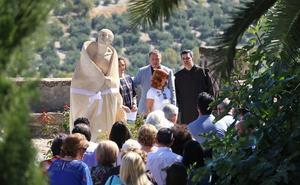 Una nueva escultura de San Juan de la Cruz para el convento de los Carmelitas Descalzos