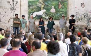 El grupo artístico Nagareboshi intenta desvelar 'El secreto de las piedras' en San Lorenzo