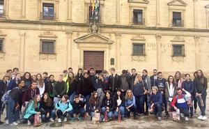 El IES Los Cerros recibe a un grupo de estudiantes y docentes alemanes y polacos