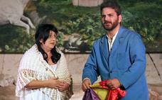 San Lorenzo acogió la representación de la obra '¡Ay, Carmela!'