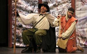 Representación de 'El Lazarillo de Tormes' dentro del ciclo 'Pequeteatro' de la Muestra de Teatro de Otoño