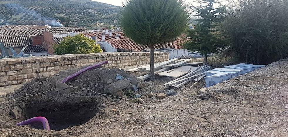Obras de remodelación en el entorno del parque del Carmen