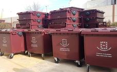 Casi 400 contenedores de basura para renovar los más deteriorados en Úbeda y sus pedanías