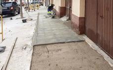 Obras en la avenida de Antonio Machado para reorganizar espacios y mejorar la accesibilidad