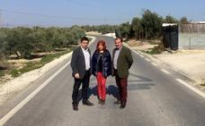 Inaugurada tras su adecuación la carretera que une Úbeda con Santa Eulalia