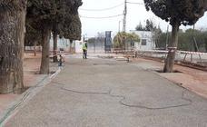 Las obras de mejora del camino del cementerio están al 70% de su ejecución