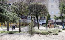 Comienzan las obras de mejora del parque Vandelvira