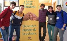 Alumnos del San Juan de la Cruz ganaron la fase provincial del Torneo de Debate Educativo de Andalucía
