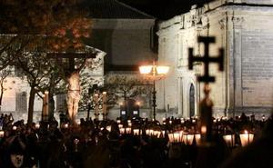 Recogimiento durante la noche del Martes Santo ubetense
