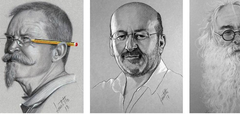 Faustino Castillo Plaza mostrará su lado más íntimo y humilde en una exposición de retratos