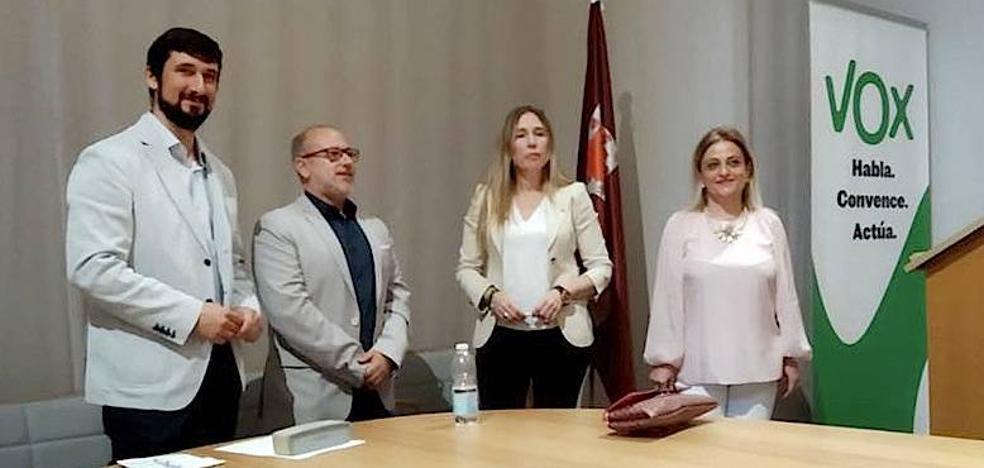 VOX Úbeda presentó su candidatura, encabezada por Eugenio Ismael Rodríguez Castillo