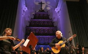 Amancio Prada interpretó el 'Cantico espiritual' junto al Coro de RTVE