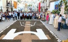 El barrio de San Millán arropó a la Virgen de la Soledad en la festividad de la Ascensión