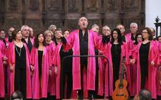 La Agrupación Coral Ubetense celebró su cuarenta aniversario con un concierto extraordinario