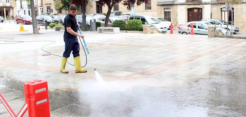 Nuevo sistema de limpieza de espacios públicos mediante vapor