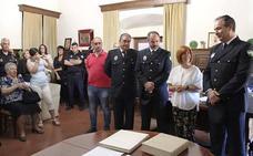 Toma de posesión de dos nuevos oficiales de la Policía Local
