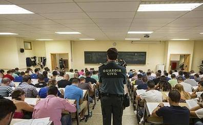 Más de 4.500 aspirantes a Guardia Civil lucharán el fin semana por una plaza en Baeza