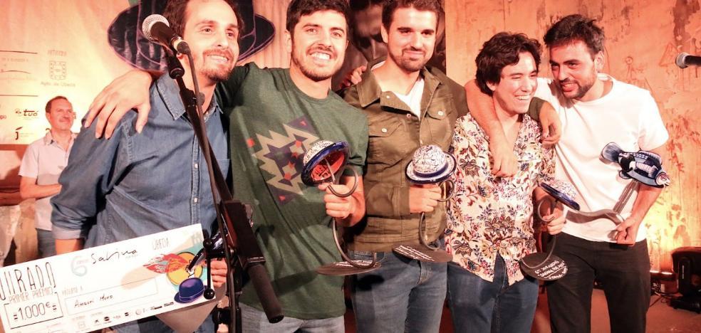 Fernando Macías y Amaury Muro ganaron el concurso 'Sabina por aquí'
