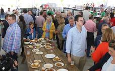 La lluvia desluce el arranque de la Feria de la Tapa