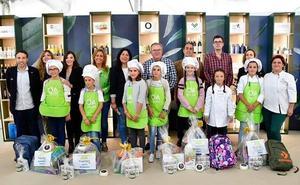 Pequeños cocineros y embajadores del aceite de oliva virgen extra