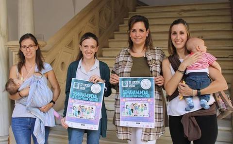 Una convivencia para conmemorar la Semana Mundial de la Lactancia Materna