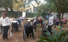 Flamenco al aire libre para conmemorar el Día Mundial del Alzheimer