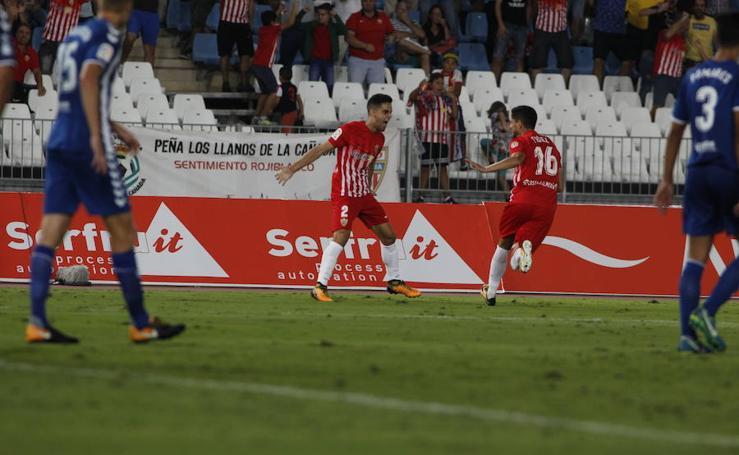 Las mejores imágenes del partido UD Almería - Lorca FC