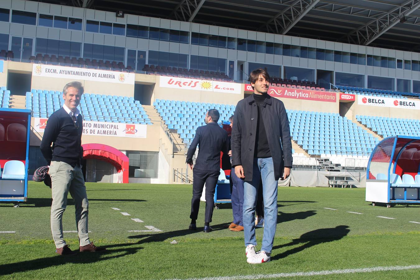 Presentación de Soleri en el Almería