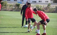 El capitán Morcillo vuelve a 'sentirse' jugador de la UD Almería