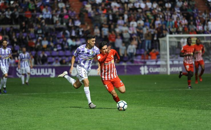 Al Almería le falta creer para ganar en Pucela