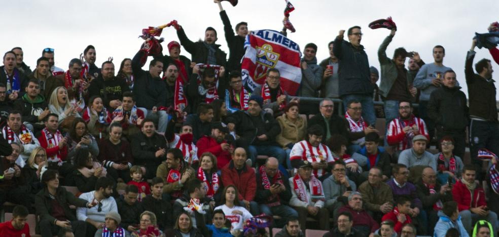 El Córdoba-Almería ha empezado ya