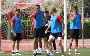 El nuevo Almería se toma el pulso