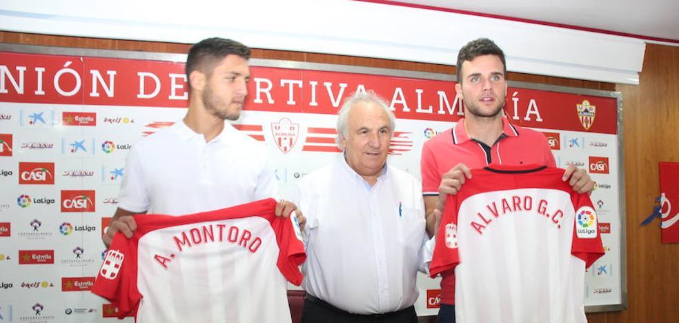 Adri Montoro y Álvaro Giménez llegan a Almería para aportar «ilusión y ganas»