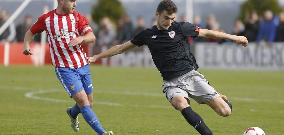 Andoni López ya es jugador del Almería, cedido por el Athletic