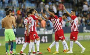 El Almería puede con el todopoderoso Málaga