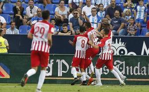 El Almería jugará frente al Reus en la tercera eliminatoria de la Copa