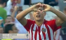 Corpas Serna logra la victoria del Almería