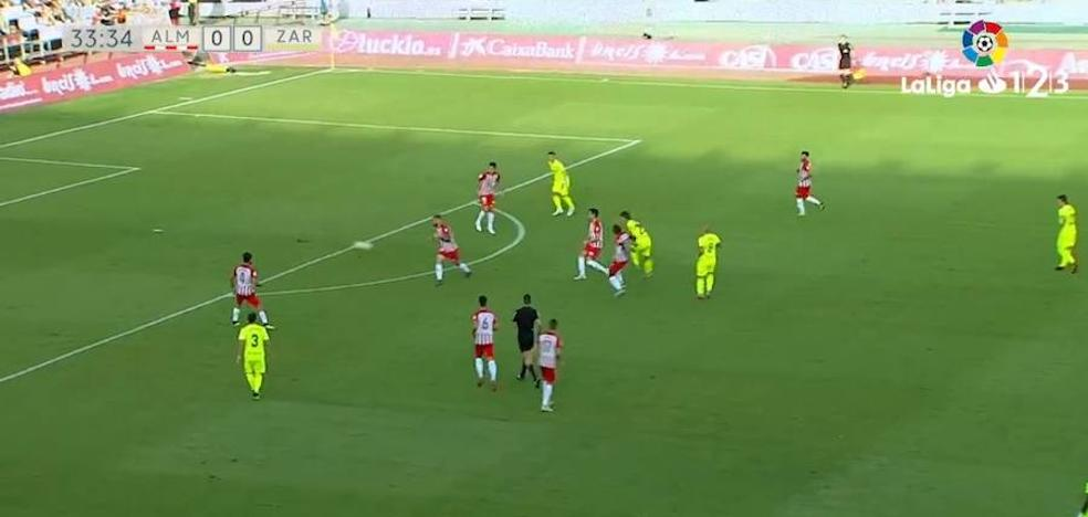 Todos los vídeos de la UD Almería - Zaragoza: resumen, goles y las mejores jugadas