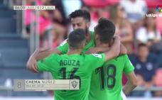 Los goles del Numancia 0-2 UDA