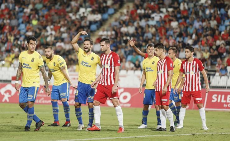 El Almería-Las Palmas, en imágenes